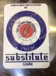 "SUBSTITUTE 4.1 ABV - No5 in the Icons of Rock Series -Crisp refreshing Pale Ale with plenty of Atlas Hoppiness! ""Substitute lies for fact I see right through your plastic mack..."" LAST COUPLE LEFT!!!!!!!"