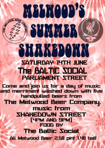 Get on down to Melwood's Summer Shakedown!